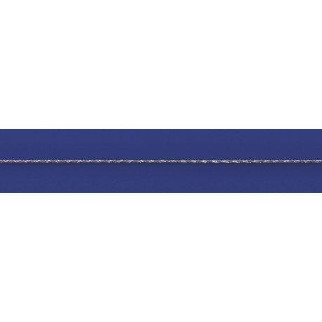 Арт 31 025чб Цепочка женская серебряная 925* чернение Снейк (Тонда) насечка