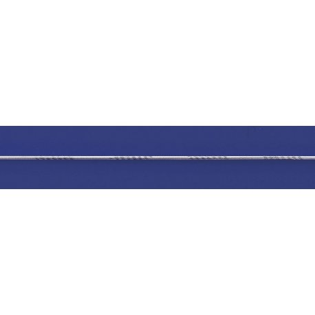 Арт 31 0310чб Ланцюжок жіночий срібний 925* чорніння Снейк (Тонда) насічка