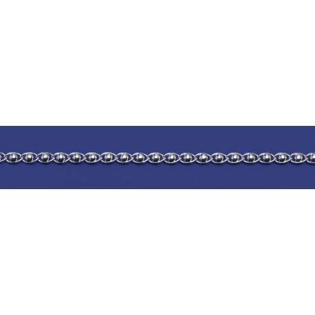 Арт 25 300ш Цепочка женская серебряная 925* Фантазия шарики