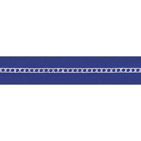 Арт 01 080к Цепочка серебряная 925* Гурмет (Панцирь) квадратный