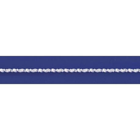 Арт 85 030 2ш Ланцюжок жіночий срібний 925* Серпантин кульки