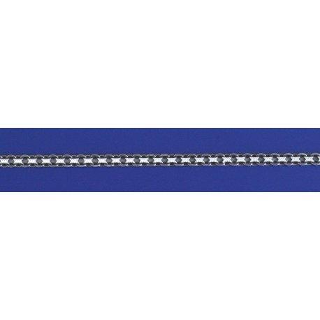 Арт 10 080 2ч Ланцюжок срібний 925* чорніння Бісмарк дворядний