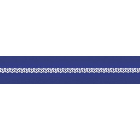 Арт 06 050 2 Ланцюжок срібний 925* Рембо (Ромб подвійний)