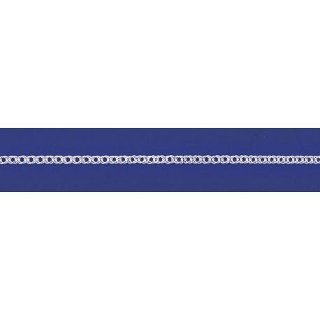 Арт 06 040 2 Ланцюжок срібний 925* Рембо (Ромб подвійний)