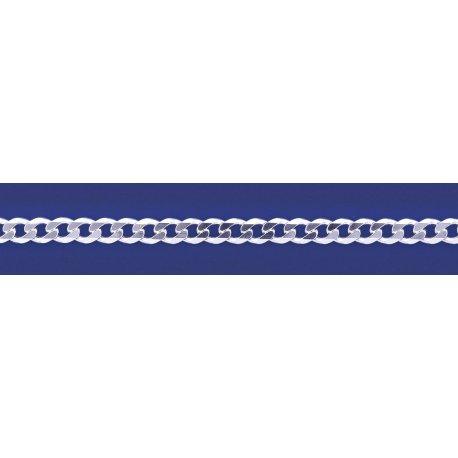 Арт 01 150 Цепочка серебряная 925* Гурмет (Панцирь)