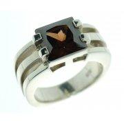 Кольцо женское серебряное 925* родий цирконий Арт 15 2 2898-125