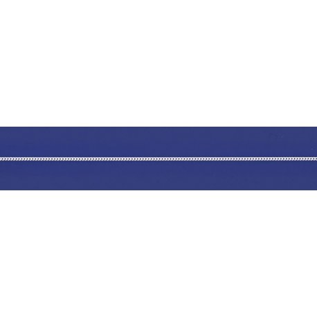 Арт 01 035р Ланцюжок срібний 925* родій Гурмет (Панцир)
