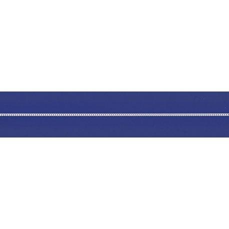 Арт 01 035р Цепочка серебряная 925* родий Гурмет (Панцирь)