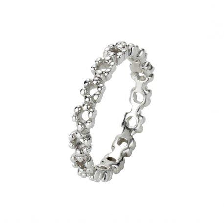 Кольцо женское серебряное 925* родий Арт 223 008