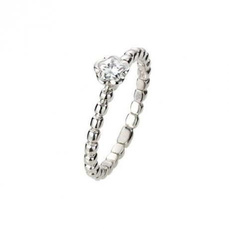 Кольцо женское серебряное 925* родий цирконий Арт 223 047