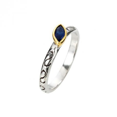 Кольцо женское серебряное 925* родий цирконий Арт 223 056с