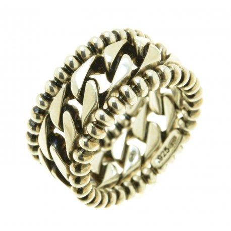 Кольцо мужское серебряное 925* родий комплект Арт 15 2 3632