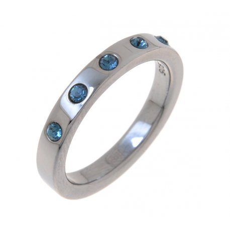 Кольцо женское серебряное 925* чернение цирконий Арт 15 2 3435-96
