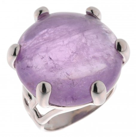 Кольцо женское серебряное 925* аметист Арт 15 3352