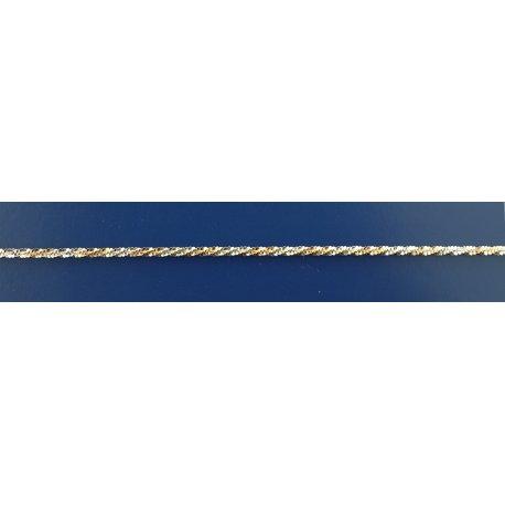 Арт 82 030жб Цепочка женская серебряная 925* позолота Ежик