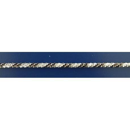 Арт 85 060чб Ланцюжок жіночий срібний 925* чорніння Їжак