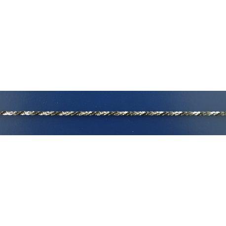 Арт 82 030чб Ланцюжок жіночий срібний 925* чорніння Їжак