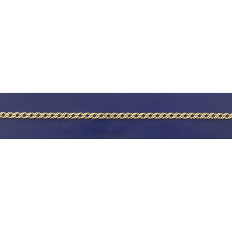 Арт 06 050 2ж Цепочка серебряная 925* позолота Рембо (Ромб двойной)