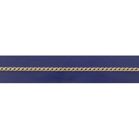 Арт 06 050 2ж Ланцюжок срібний 925* позолота Рембо (Ромб подвійний)