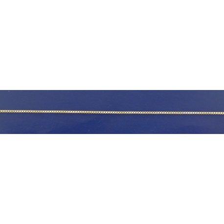 Арт 07 008ж Ланцюжок жіночий срібний 925* позолота Венеція
