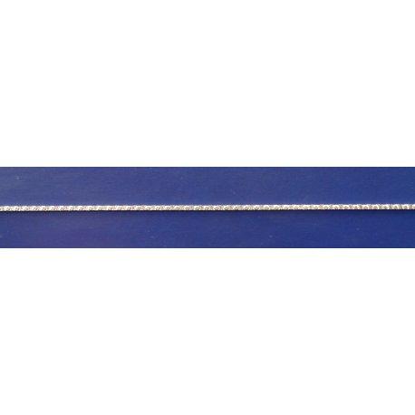 Арт 36 004б Цепочка женская серебряная 925* насечка Фантазия