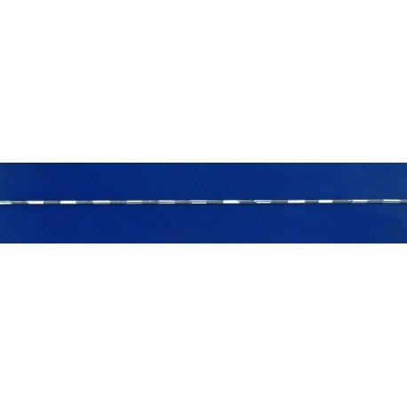 Арт 31 002чб Ланцюжок жіночий срібний 925* чорніння Снейк (Тонда) насічка