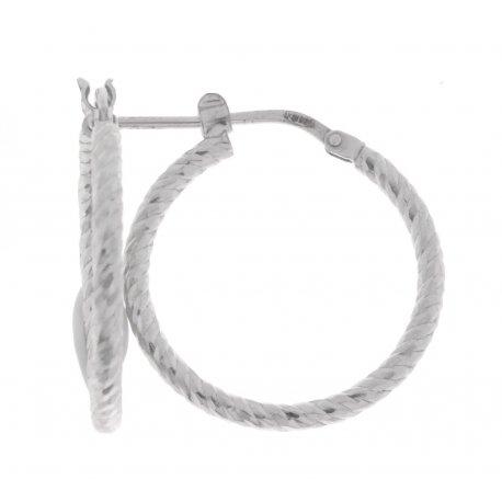 Серьги женские серебряные 925* родий Арт 472 115