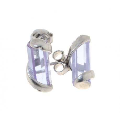 Серьги женские серебряные 925* циркон Арт 11 2768