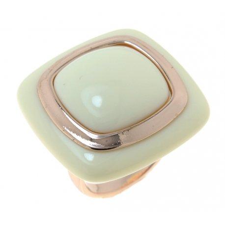 Кольцо женское высококачественная сталь позолота Арт3550068
