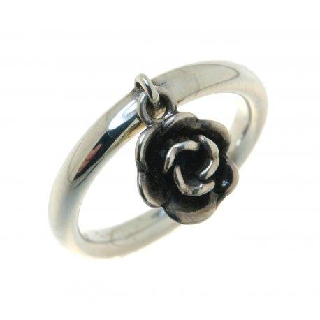Кольцо женское серебряное 925* эмаль Арт 15 2 3339