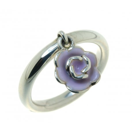 Кольцо женское серебряное 925* эмаль Арт 15 2 3455