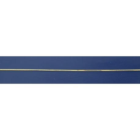 Арт 31 007ж Ланцюжок жіночий срібний 925* позолота Снейк