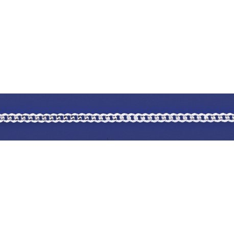 Арт 01 100 Цепочка серебряная 925* Гурмет (Панцирь)