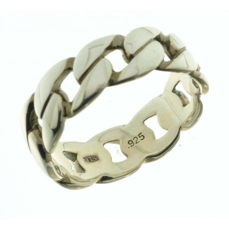 Кольцо мужское серебряное 925* родий Арт 15 2 1262