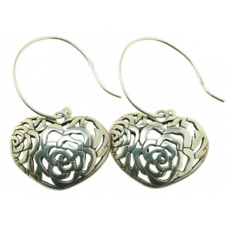 Серьги женские серебряные 925* родий Арт 11 2 4268