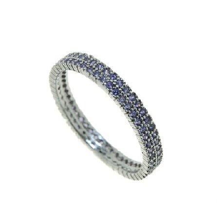 Кольцо женское серебряное 925* родий цирконий Арт 155 0020ф