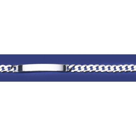 Арт 01 150оп Цепочка серебряная 925* Панцирь облегченный пластина