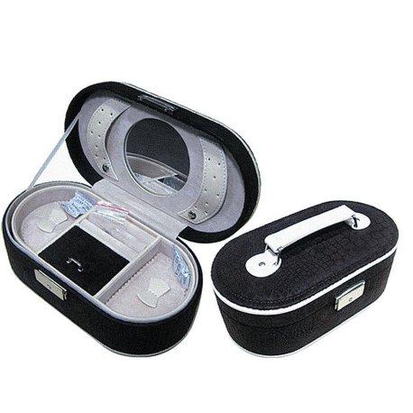Шкатулка для хранения ювелирных украшений иск. кожа Арт 243