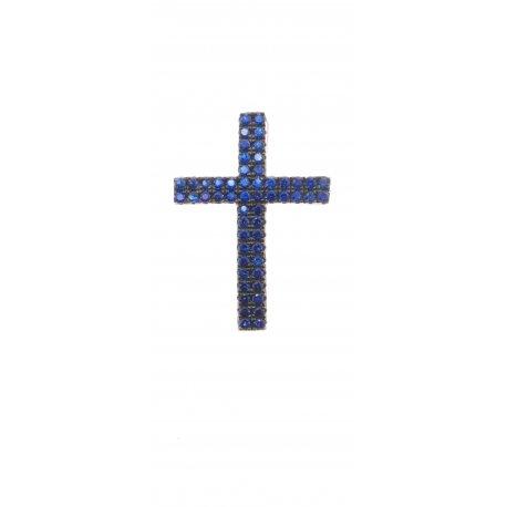Подвес женский серебряный 925* родий цирконий Арт 135 135с