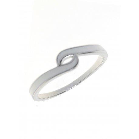 Кольцо женское серебряное 925* эмаль Арт 223 03б
