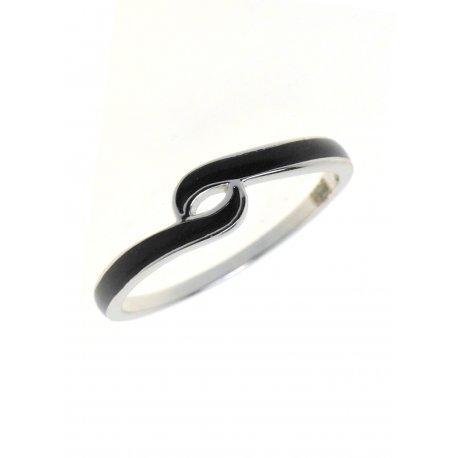 Кольцо женское серебряное 925* эмаль Арт 223 03ч