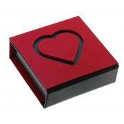 Футляр для ювелирных изделий Арт PU Hearts-04