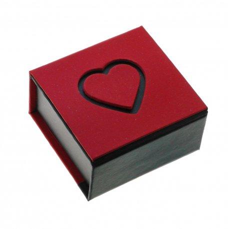 Футляр для ювелирных изделий Арт PU Hearts-06