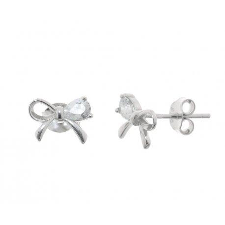 Сережки жіночі срібні 925* родій цирконій Арт 115 1 945