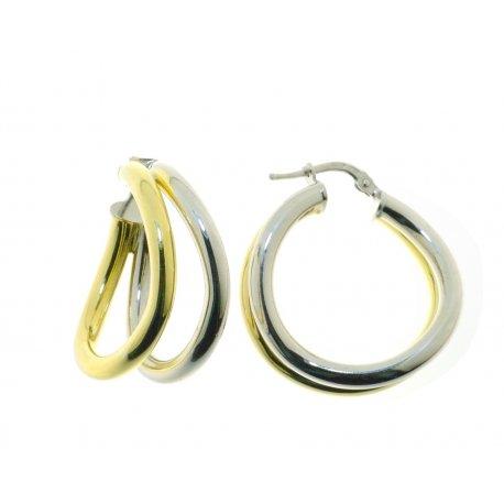 Серьги женские серебряные 925* родий позолота Арт422 4 327цв