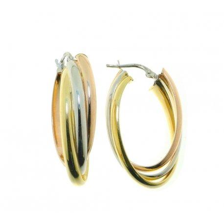Серьги женские серебряные 925* родий позолота Арт422 4 351цв