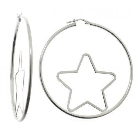 Серьги женские серебряные 925* родий Арт 422 4 036SC