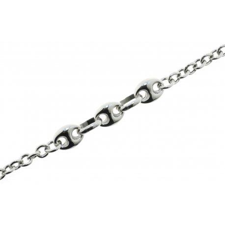 Браслет женский серебряный 925* родий Арт 221 322