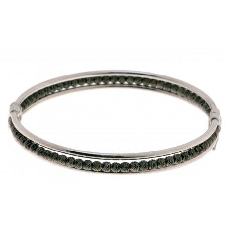 Браслет женский серебряный 925* родий Арт 421 4 376