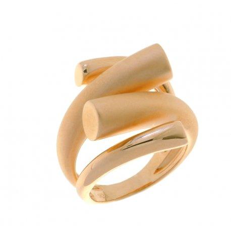Кольцо женское серебряное 925* позолота Арт 55 5 3818